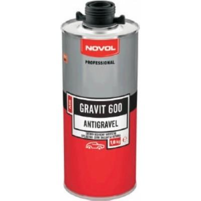 Антигравийное покрытие Novol 37848 GRAVIT 600 MS черное 1,8кг