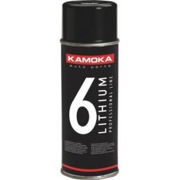 Смазка литиевая в аэрозоле Kamoka W310 400мл