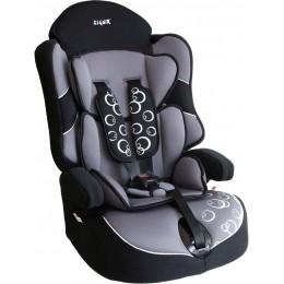 Кресло детское SIGER KRES0234 Драйв группа 1-2-3 серое