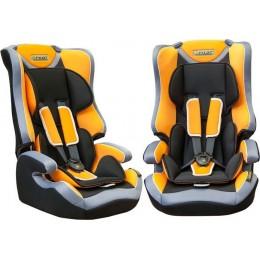 Детское кресло безопасности группа 1,2,3 Pilot 7513 оранжевое 9-36кг