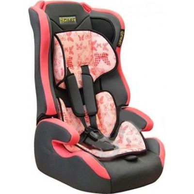 Детское кресло безопасности группа 1,2,3 (9-36кг) Pilot 7513 розовое