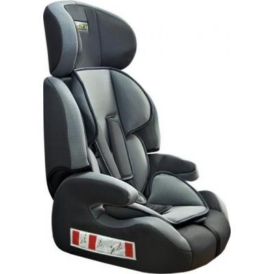 Детское кресло безопасности группа 1,2,3 (9-36кг) Pilot 7515 серое