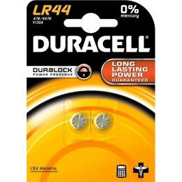 Элементы питания Duracell LR44 2шт