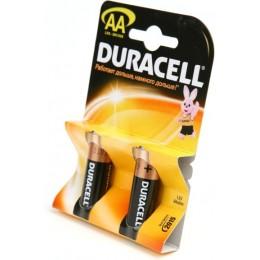 Алкалиновые батарейки Duracell АА 1.5v LR6 2шт.