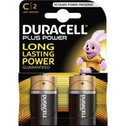 Алкалиновые батарейки Duracell С 1.5v LR14 2шт.