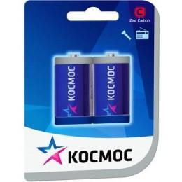 Солевые батарейки КОСМОС C 1.5v R14 2шт.