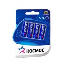 Солевые батарейки КОСМОС АА 1.5v R6 4шт.