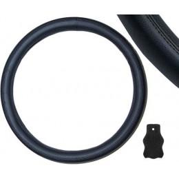 Чехол руля кожаный черный Pilot K046