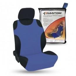 Майки на передние сиденья синие PHANTOM PH5061 2шт