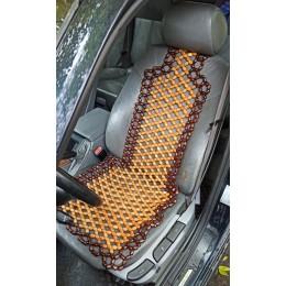 Накидка на сиденье массажная лакированная, мод. 006