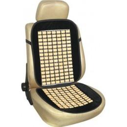 Накидка на сиденье велюр+бамбук CU57BK