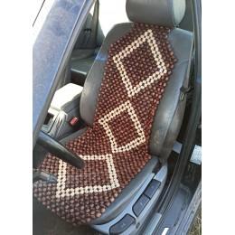 Накидка на сиденье массажная нелакированная, мод. 005