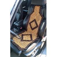 Накидка на сиденье массажная лакированная, мод. 004