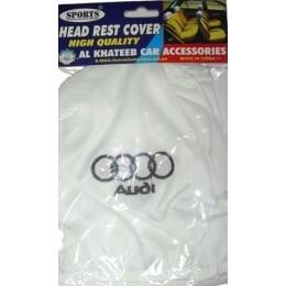 Чехлы на подголовники с логотипом Audi HR360AU