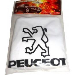 Чехлы на подголовники с логотипом Peugeot 2шт