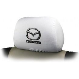Чехлы на подголовники с логотипом Mazda