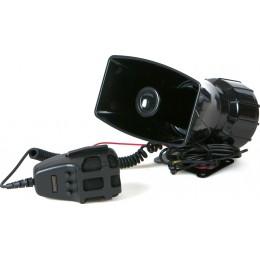 Сирена 100W 3-тональная с громкоговорителем Premier 12V SMM-400