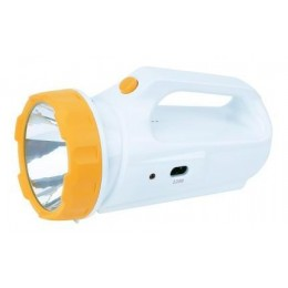 Фонарь-прожектор со встроенной настольной лампой и солнечной батареей KOСМОС Accu 678S LED