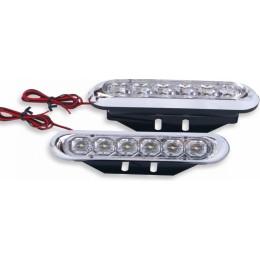 Дневные светодиодные ходовые огни King TTX-1031 12V