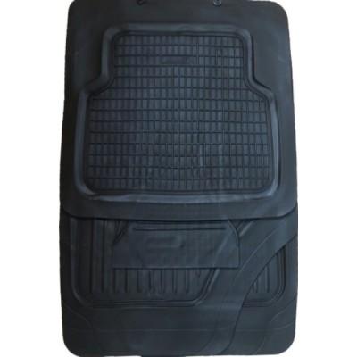 Коврики автомобильные CM1037BK ПВХ черные 5шт