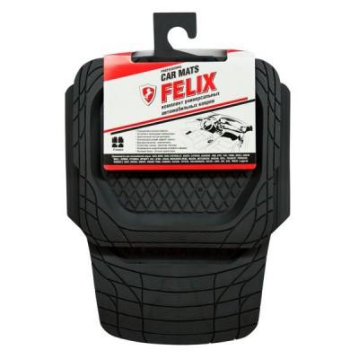 Автомобильные коврики FELIX черные 4шт