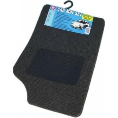 Коврики текстиль серые (4шт.) All Ride 3391