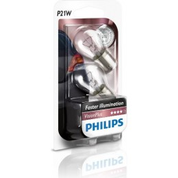 PHILIPS 12498vpb2 P21W комплект автоламп Vision Plus 2шт.