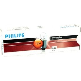 Комплект автомобильных ламп PHILIPS 13913CP 2W 24V BA9s 10шт.