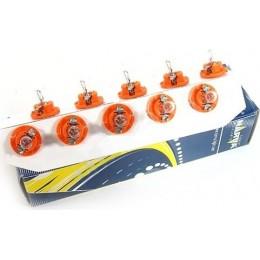 Комплект автоламп NARVA 17046 12V-1,1W (BX8,4d) оранжевый 10шт.