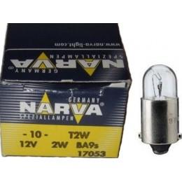 Комплект автоламп NARVA 17053 12V-2W (BA9s) 10шт.