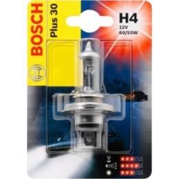 Лампа галогеновая Bosch 1987301002 Plus 30 H4