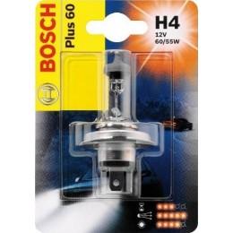 Лампа галогеновая Bosch 1987301040 Plus 60 H4