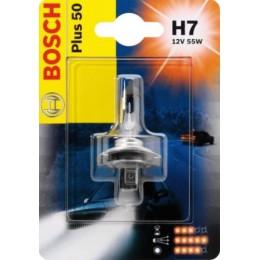 Лампа галогеновая Bosch 1987301042 Plus 50 H7
