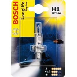 Лампа галогеновая Bosch 1987301051 Longlife Daytime H1