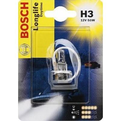 Галогенная лампа Bosch 1987301053 H3 Longlife Daytime 12V 55W