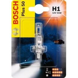 Лампа галогеновая Bosch 1987301064 Plus 50 Plus Life H1