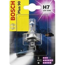 Лампа галогенная Bosch 1987301078 Plus 90 H7