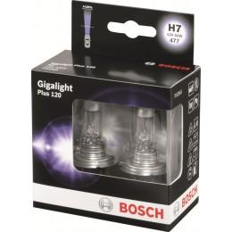 Комплект ламп галогенных Bosch 1987301107 Gigalight Plus 120 H7 2шт.