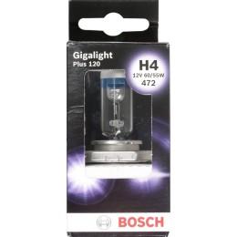 Лампа галогенная Bosch 1987301160 Gigalight Plus 120 H4