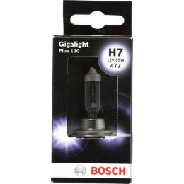 Лампа галогенная Bosch 1987301170 Gigalight Plus 120 H7