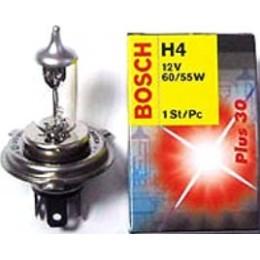 Лампа галогеновая Bosch 1987302042 Plus 30 H4