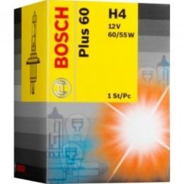 Лампа галогеновая Bosch 1987302049 Plus 60 H4