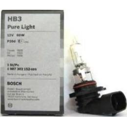 Лампа галогеновая Bosch 1987302152 Pure Light HB3