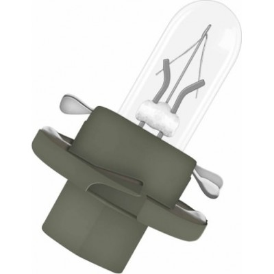 Автомобильная лампа для печатных плат Osram 2431MFX6 BX8.4d.