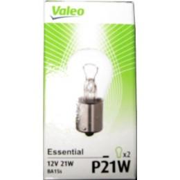 Комплект ламп Valeo 032101 P21W 2шт.