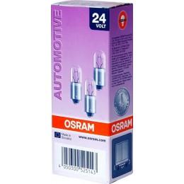 Комплект автомобильных ламп Osram 3797 2W 24V BA9s 10шт.