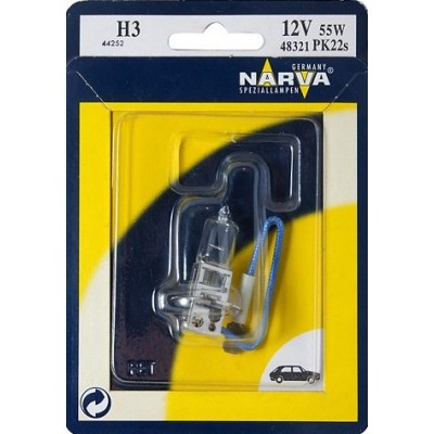 Автолампа NARVA 48321-B H3 12V