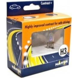 Комплект автоламп NARVA 48521 H3 CONTRAST+
