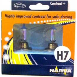Комплект автоламп NARVA 48528 H7 CONTRAST+