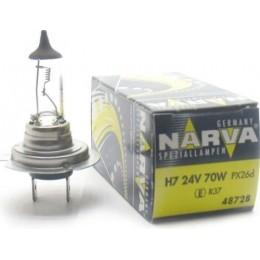 Автолампа 48728 H7 24V-70W (PX26D) NARVA
